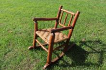 Child Size Old Hickory Rocking Chair