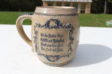 Whites Utica Stoneware Mug Richard Briggs Boston