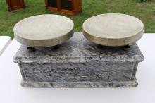 Antique Marble Balance Scale