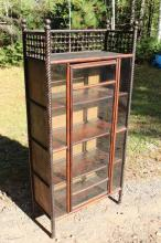 Antique Stick & Ball Curio Cabinet