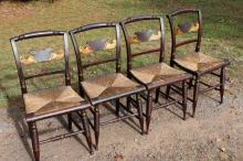 Awesome Condition Antique Hitchcock Chairs 4