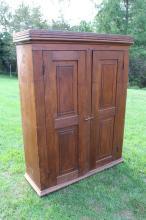 Primitive Pine Warddrobe Cupboard