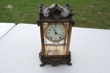 1800's Art Nouveau Seth Thomas Mantle Clock