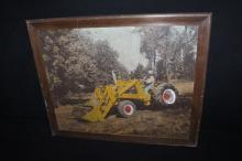 JI Case 530 Construction King Tractor Sign