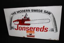 Jonsereds Modern Swede Saw Chainsaw Sign