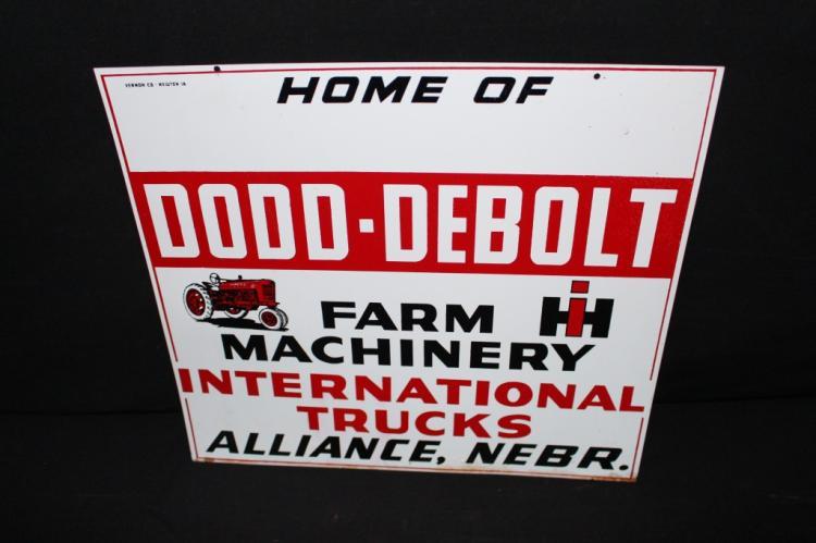 International Harvester Machinery & Trucks Sign