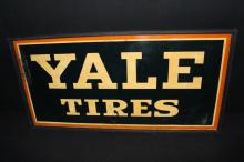 Yale Tires Service Station Tin Sign
