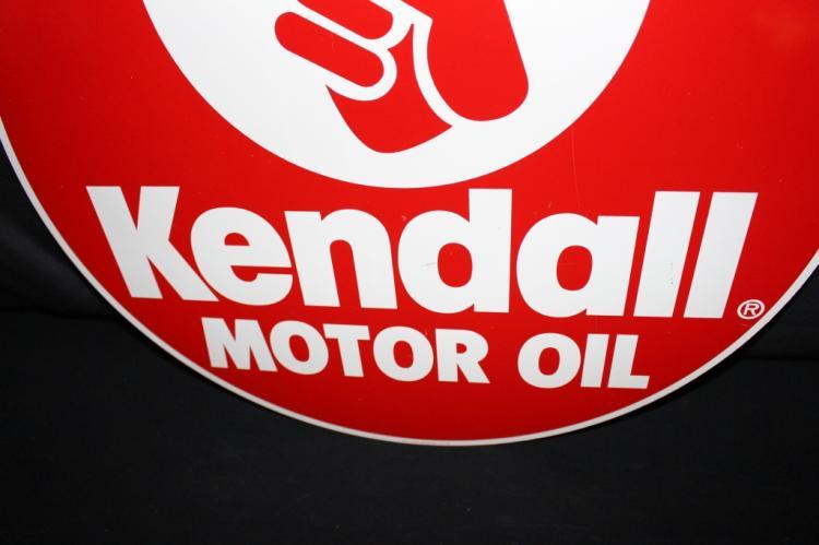 Kendall Motor Oil Tin Sign