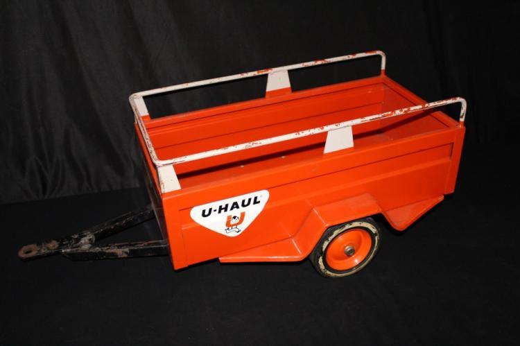 UHAUL RENTALS PEDAL CAR TRUCK TRAILER