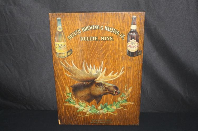 RARE MEYERCORD DULUTH BREWING & MALTING BEER SIGN