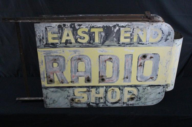 EAST END RADIO SHOP NEON SIGN SUPERIOR WISCONSIN