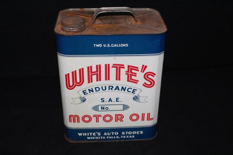 Whites Endurance 2 Gal Oil Can Wichita Falls TX