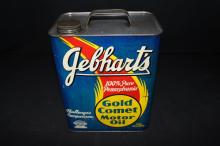Gebhardts Gold Comet 2 Gallon Oil Can