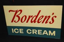 NOS Bordens Ice Cream Sign
