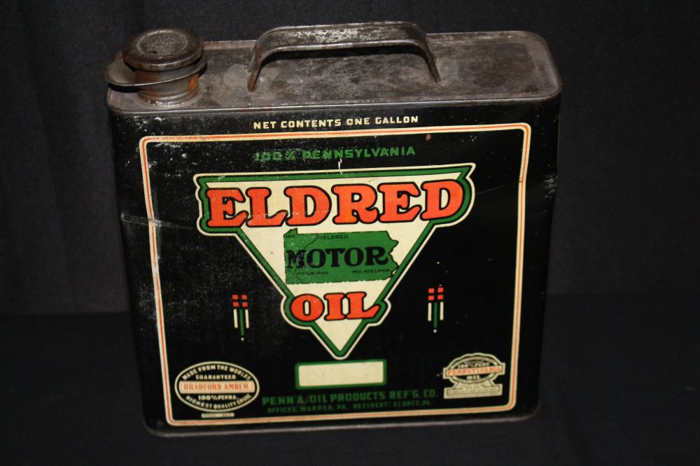 1 GAL OIL CAN PENNA PRODUCTS ELDRED PENNSYLVANIA