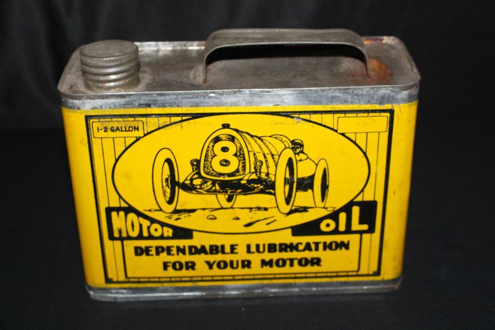 1/2 GAL OIL CAN KOCHENDERFER COCHRANE WI RACE CAR