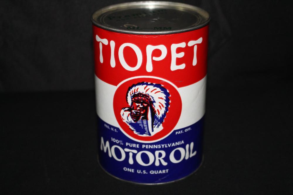 QUART COMPOSITE OIL CAN TIOPET