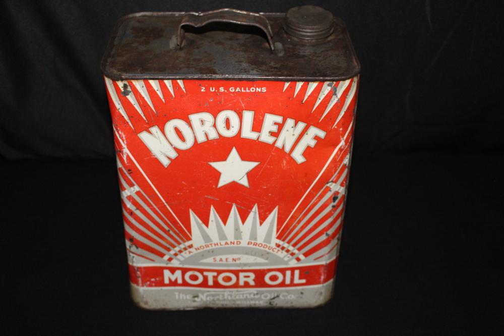 2 GAL OIL CAN NOROLENE NORTHLAND OIL CO WILMAR MN