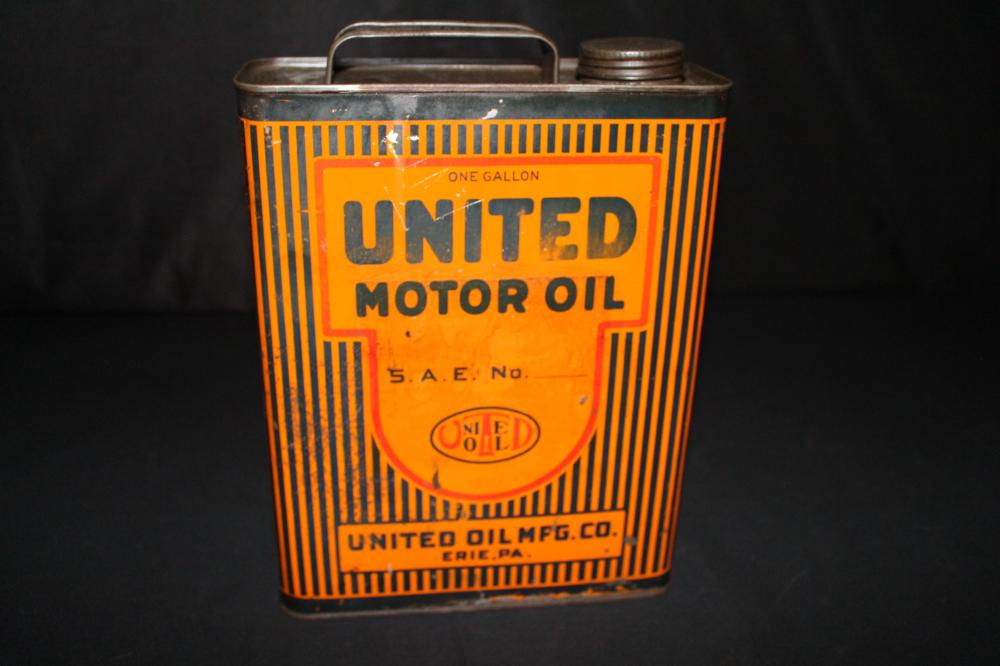 1 GAL OIL CAN UNITED MFG CO ERIE PA PENNSYLVANIA