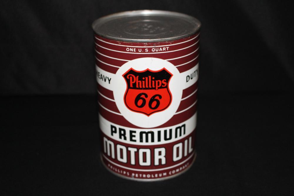 QUART OIL CAN PHILLIPS 66 PREMIUM