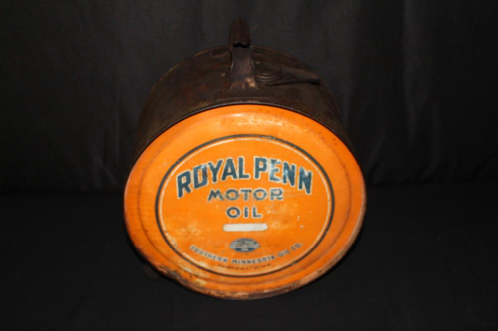 5 GAL ROCKER OIL CAN ROYAL PENN FAIRMONT MN