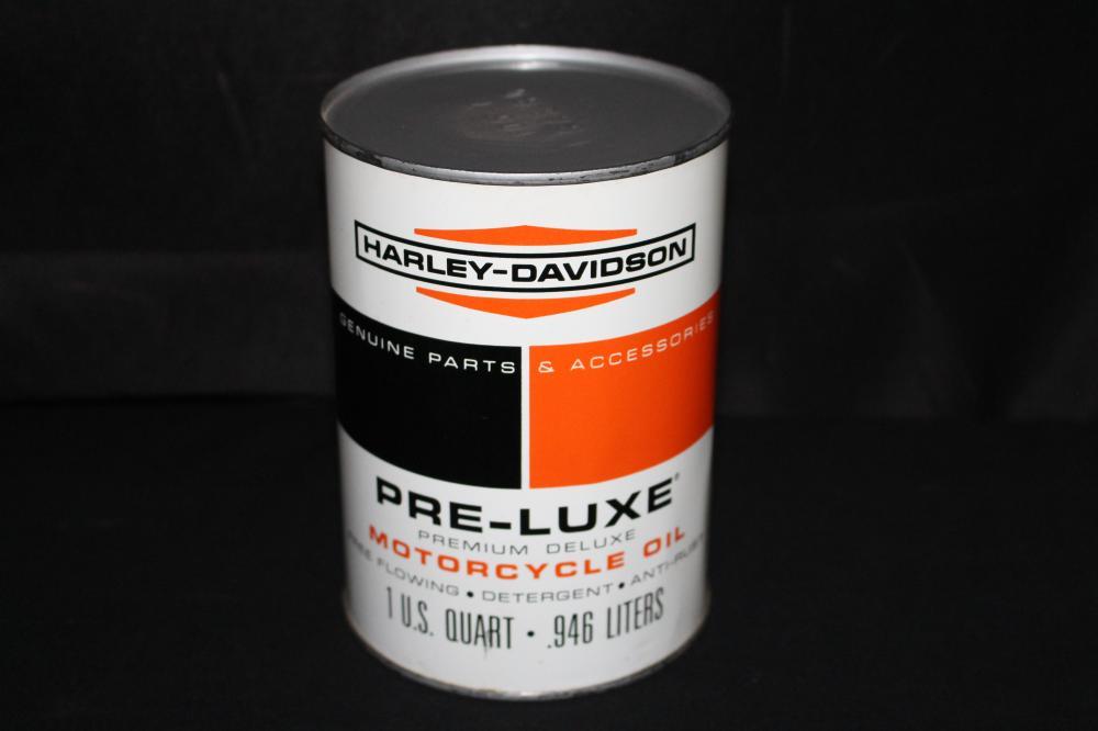 QUART OIL CAN HARLEY DAVIDSON PRELUXE