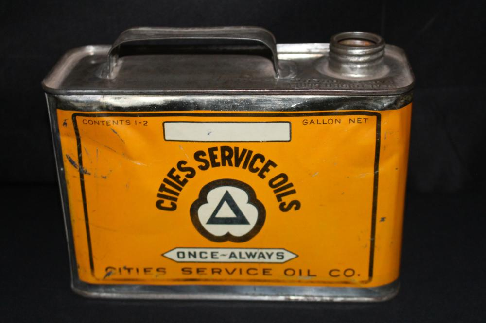 1/2 GAL OIL CAN CITIES SERVICE