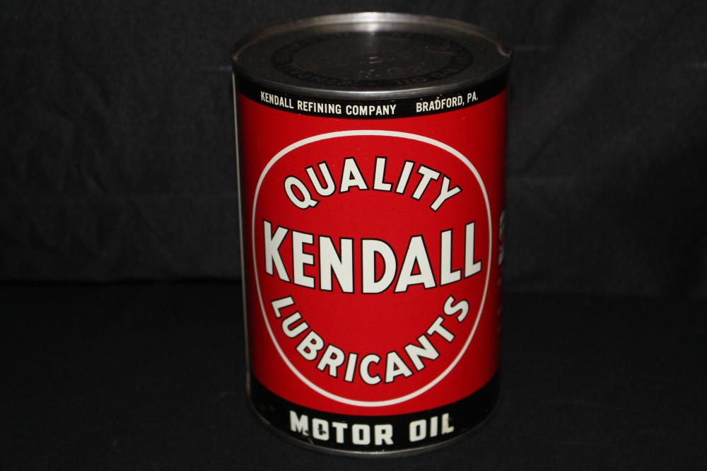 QUART OIL CAN KENDALL QUALITY LUBRICANTS
