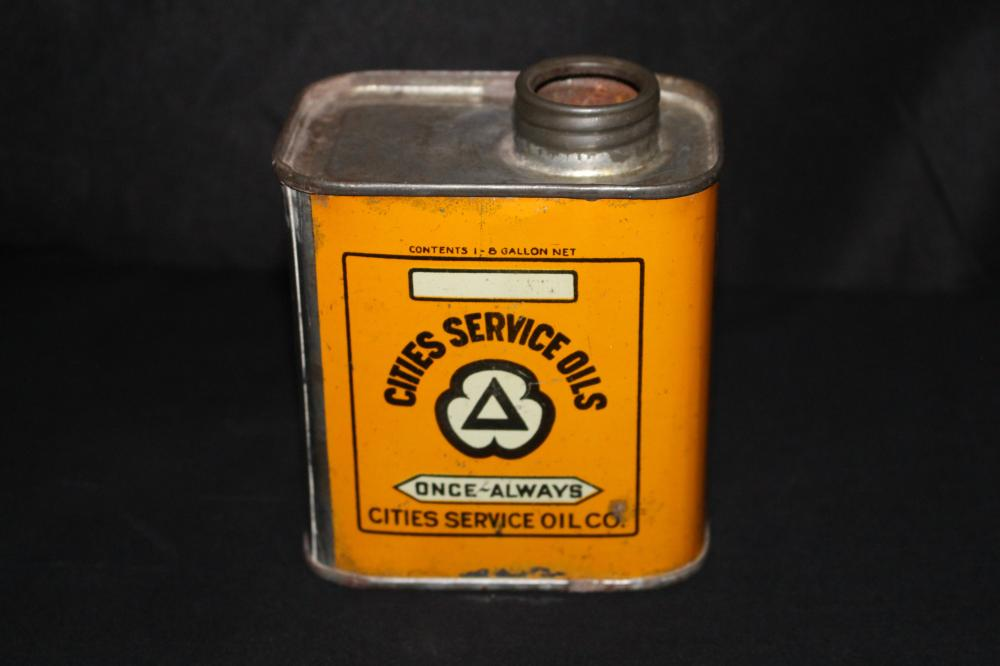 PINT OIL CAN CITIES SERVICE MOTOR OIL