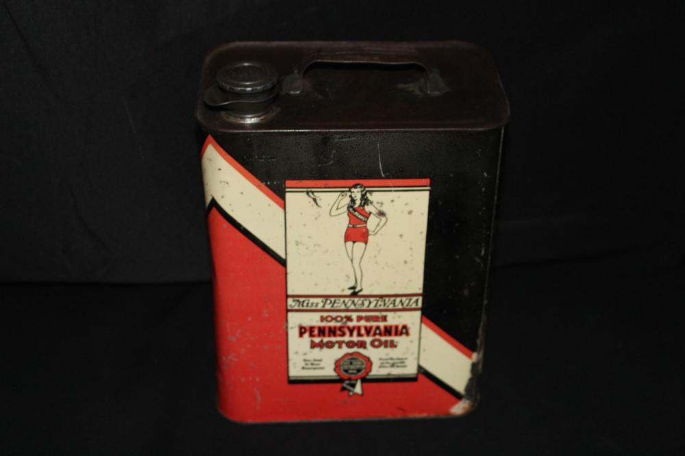 2 GAL OIL CAN MISS PENNSYLVANIA BUTLER PA
