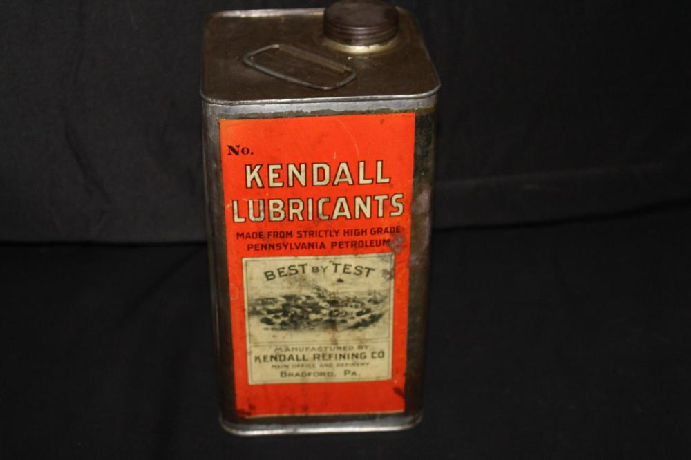 1 GAL OIL CAN KENDALL LUBRICANTS BRADFORD PA