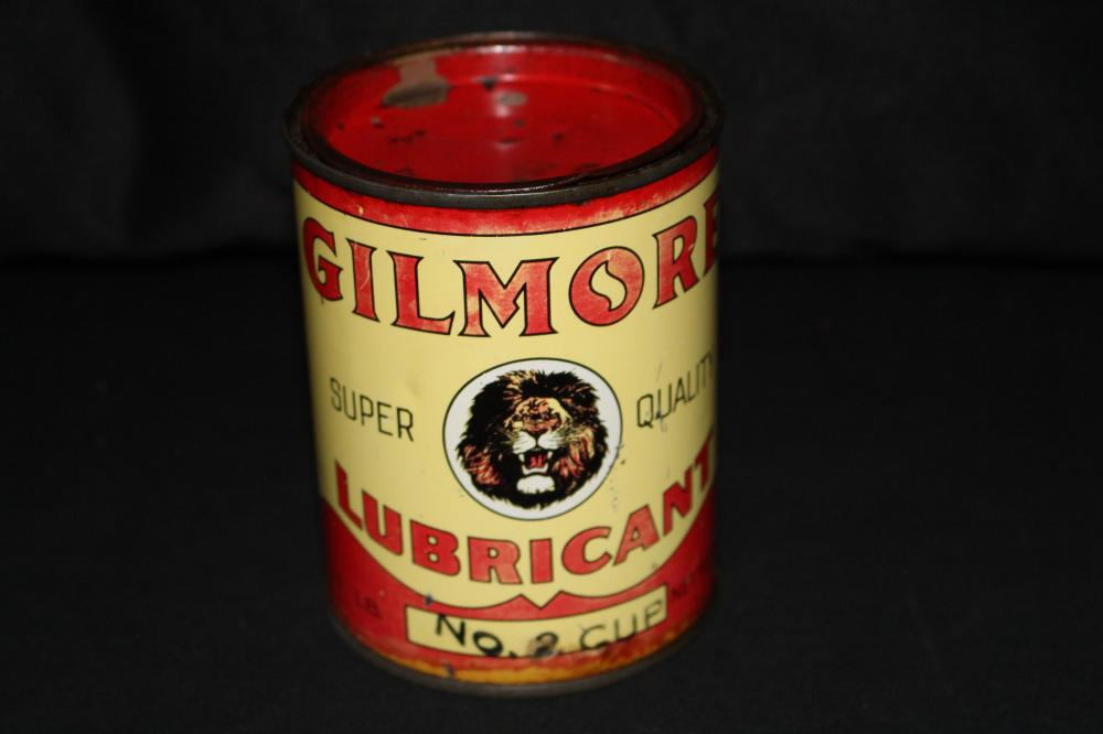 1# GREASE OIL CAN GILMORE LUBRICANTS