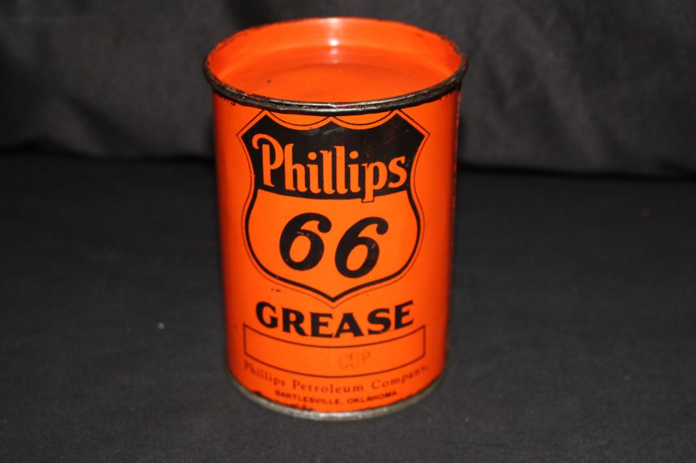 1# GREASE OIL CAN PHILLIPS 66 BARTLESVILLE OK