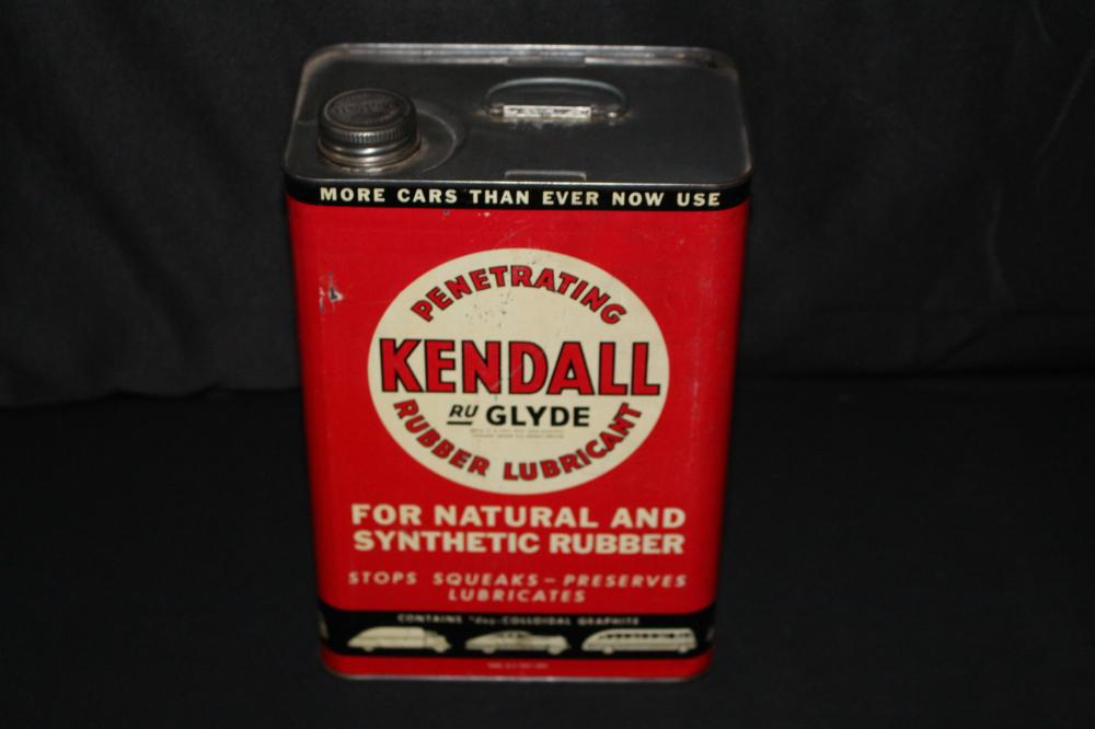 1 GAL OIL CAN KENDALL RU GLYDE RUBBER LUBRICANT