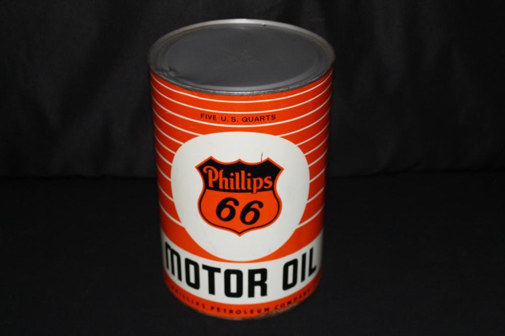 5 QUART OIL CAN PHILLIPS 66