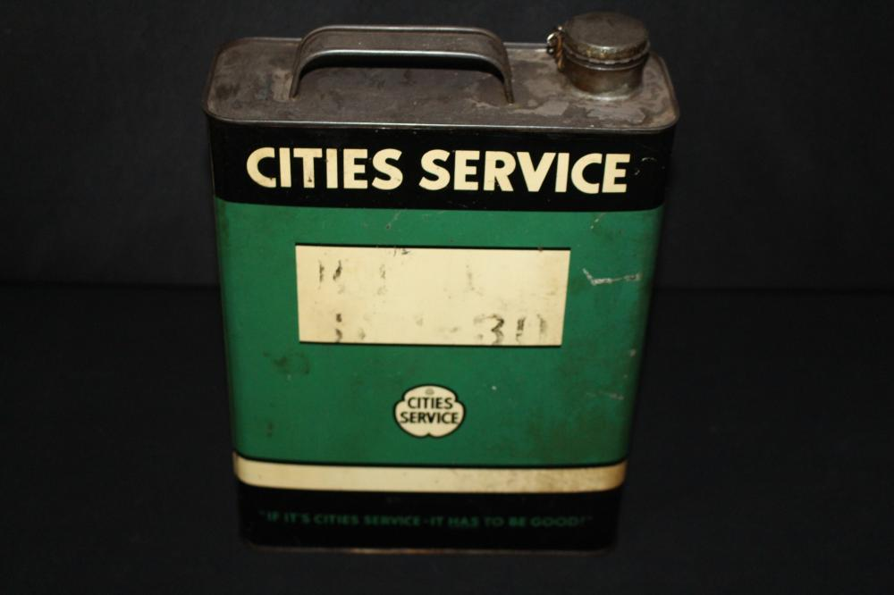 1 GAL OIL CAN CITIES SERVICE