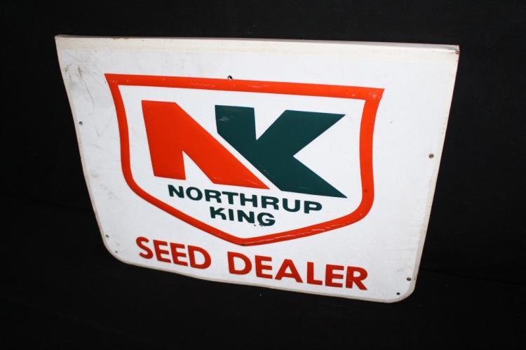 Northrup King Seed Dealer Sign