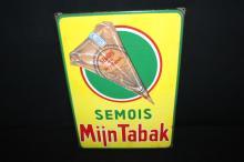 Porcelain Semois Tobacco Sign