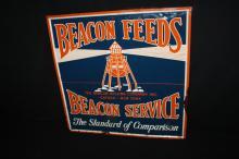 Beacon Feeds Farms Sign Cayuga New York