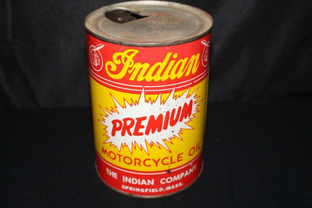 PREMIUM INDIAN MOTORCYCLE OIL QUART CAN