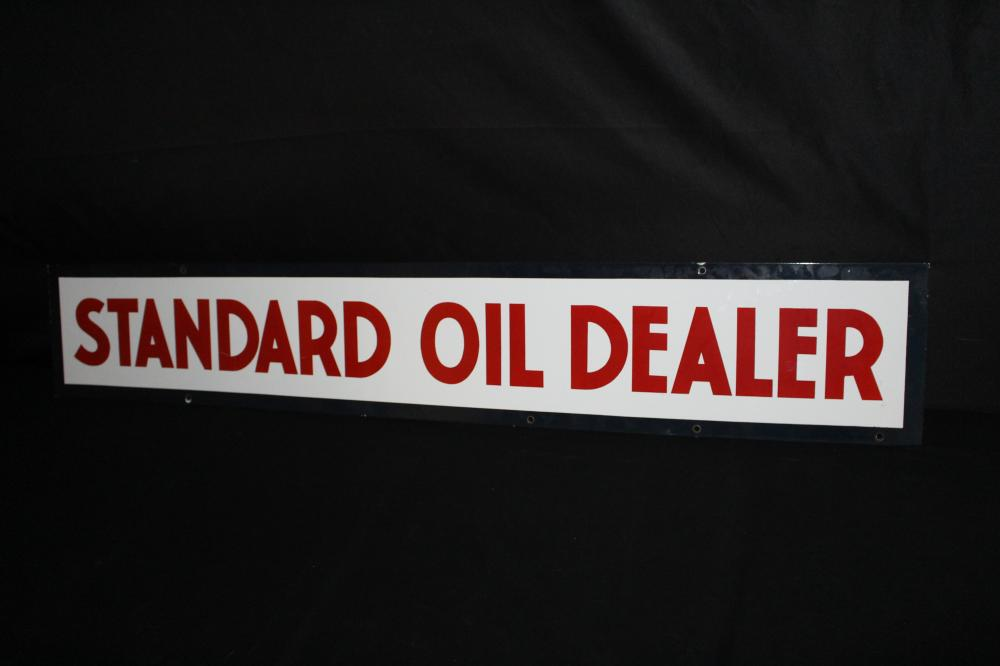 PORCELAIN STANDARD OIL DEALER SIGN