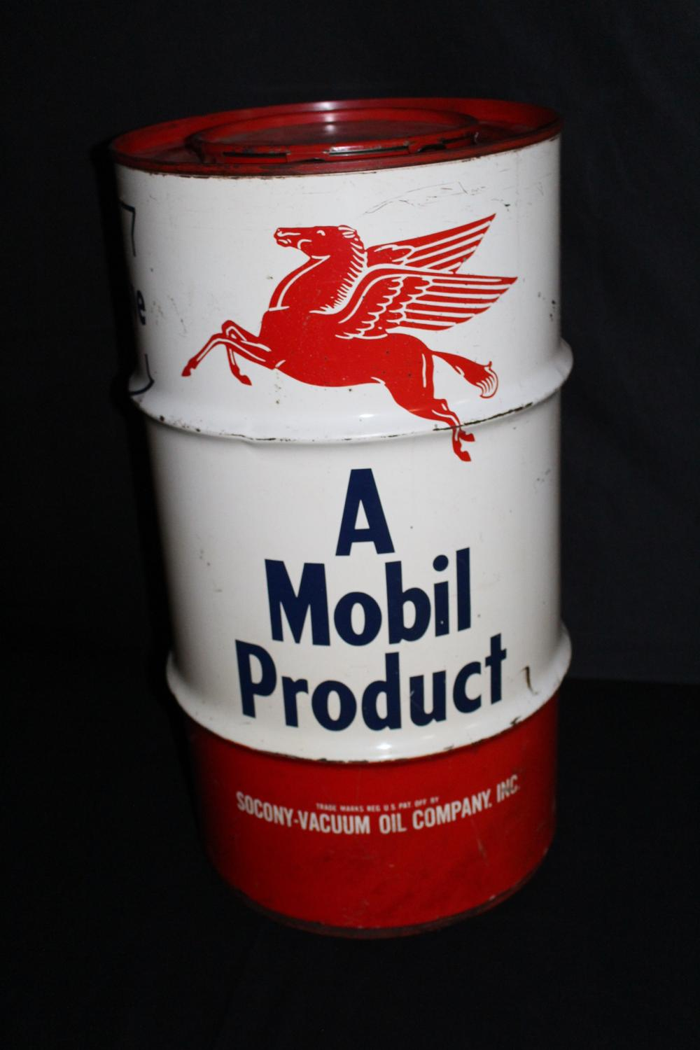 MOBIL MOBILUBE 120# GREASE DRUM BARREL CAN
