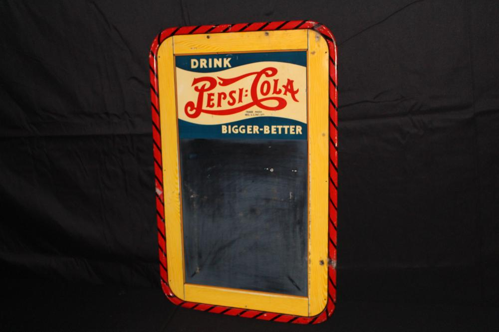 DRINK PEPSI COLA BLACKBOARD SIGN