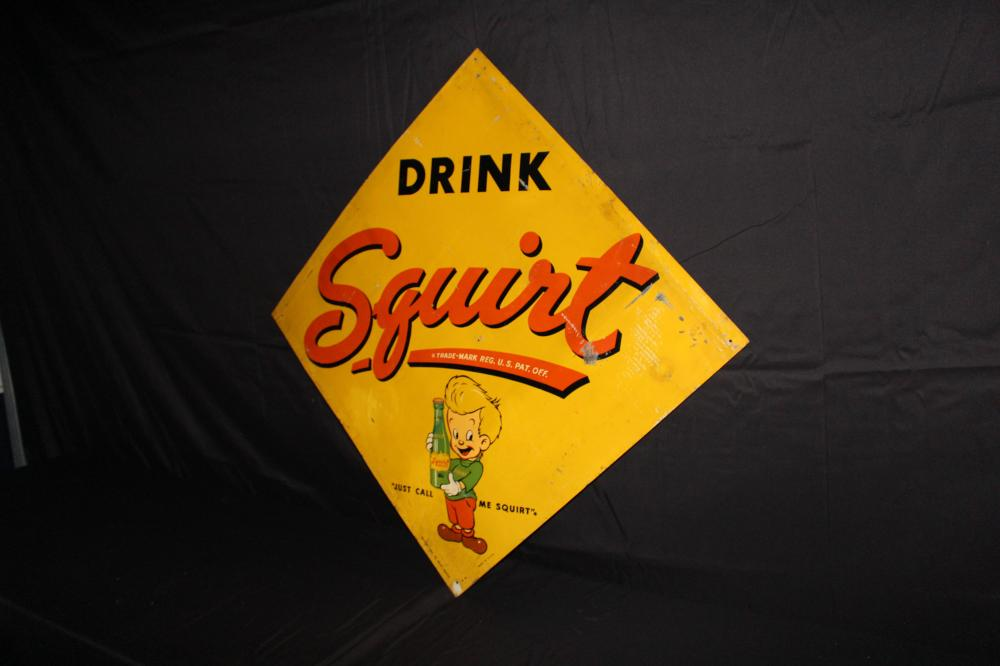 DRINK SQUIRT SODA POP SIGN
