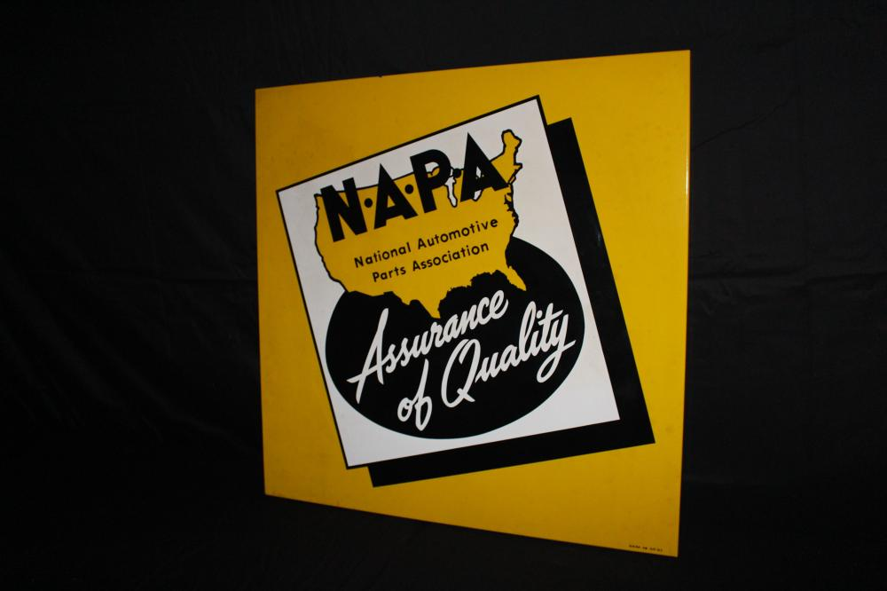PORCELAIN NAPA AUTO PARTS SIGN