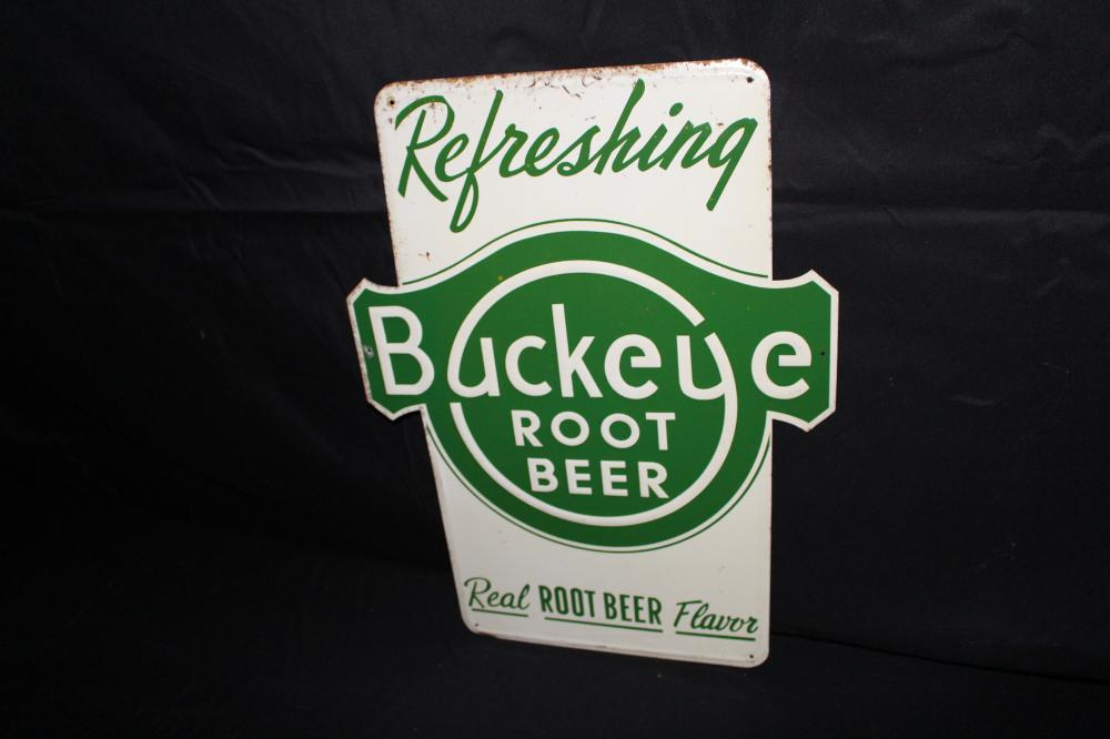 REFRESHING BUCKEYE ROOT BEER
