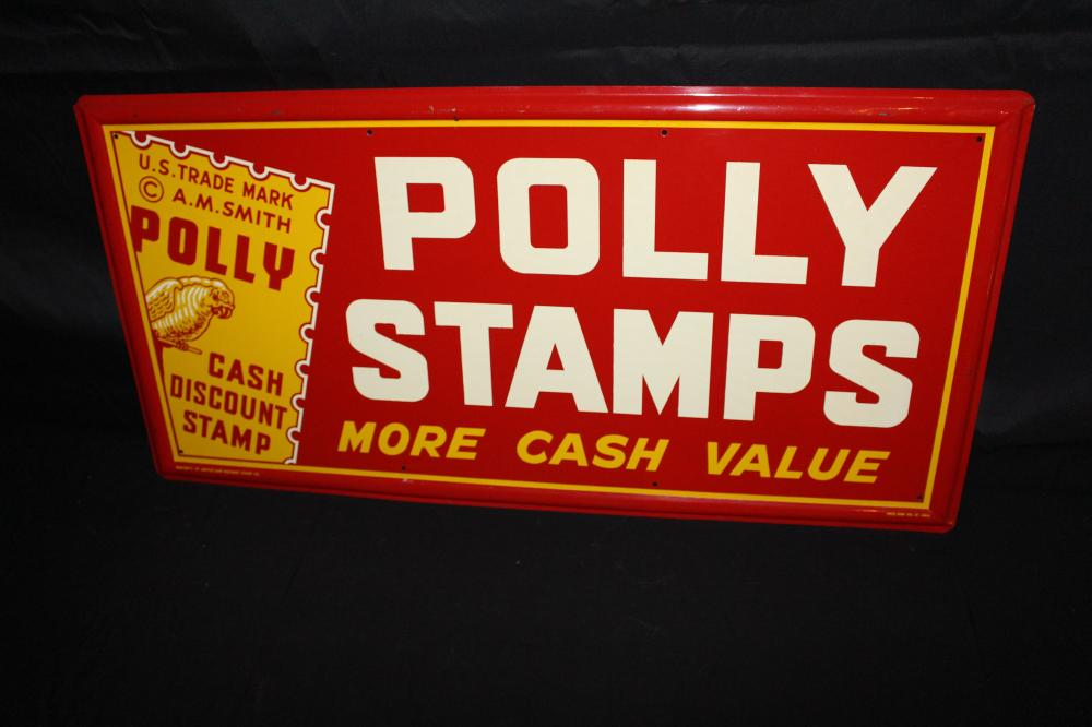 POLLY STAMPS SIGN