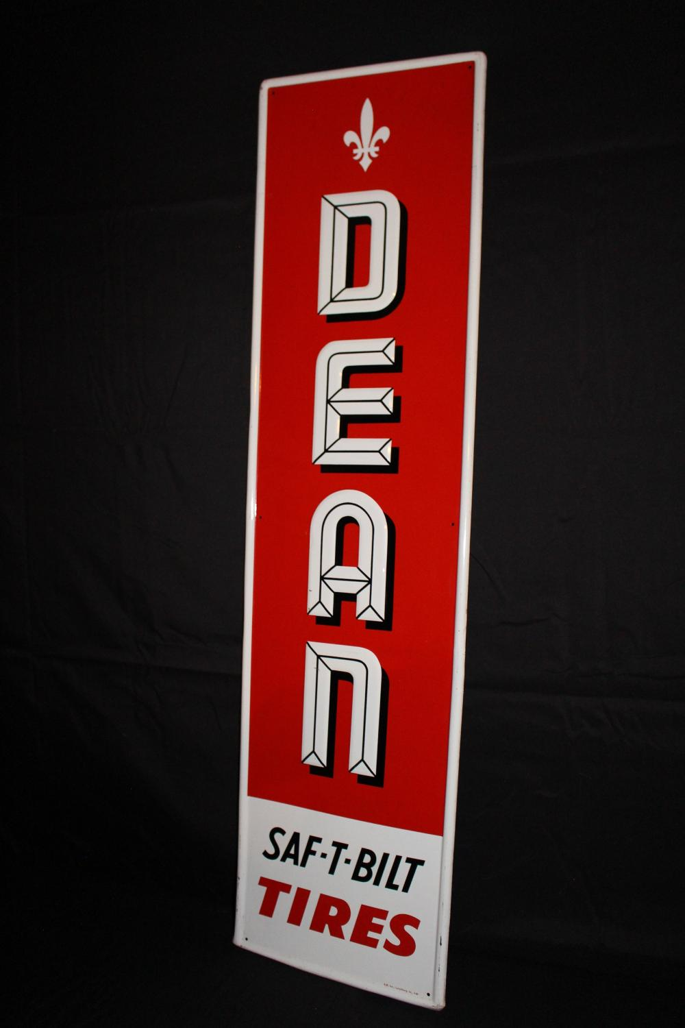 DEAN SAF T BILT TIRES SIGN
