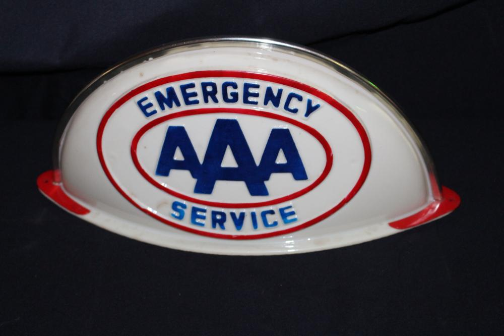 AAA EMERGENCY TOW TRUCK SIGN TOPPER