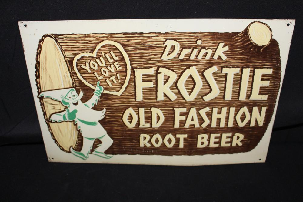DRINK FROSTIE ROOT BEER SODA POP SIGN